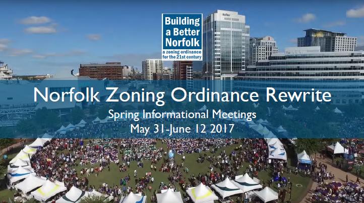Norfolk Zoning Ordinance Rewrite